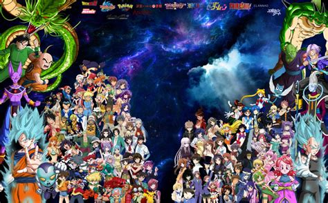 Anime Compilation Wallpaper - my favorite anime compilation by cokedark11 on deviantart