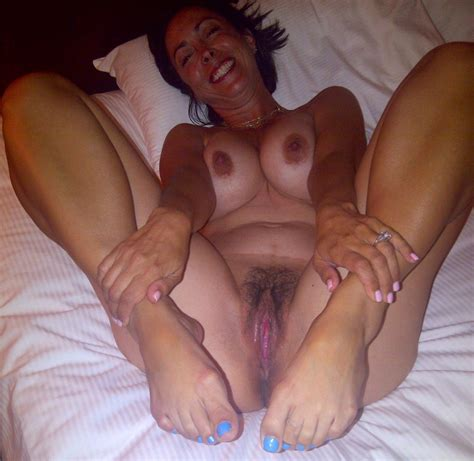 another mix of mature feet and wet sloppy pussy mature porn photo