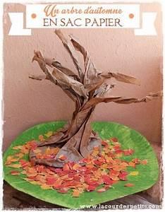 Bricolage Automne Primaire : l 39 arbre en sac papier un bricolage d 39 automne original sac papier automne et originaux ~ Dode.kayakingforconservation.com Idées de Décoration