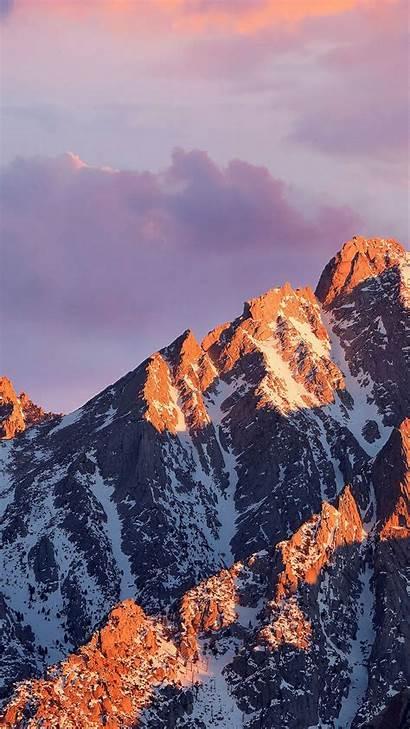 Mountain Apple Mac Iphone Os Background Mountains