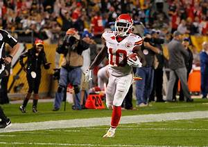 Tyreek Hill In Kansas City Chiefs V Pittsburgh Steelers