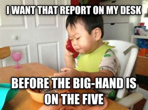 Business Kid Meme - the business baby meme is the best 19 pics izismile com