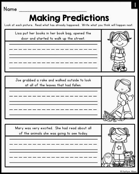 prediction worksheets 3rd grade free worksheets library