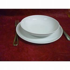 Assiette Creuse Blanche : assiette creuse calotte elysee diam en porcelaine ~ Teatrodelosmanantiales.com Idées de Décoration