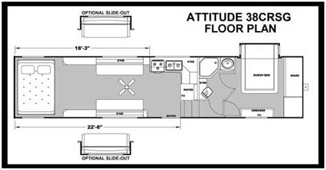 Attitude 5th Wheel Hauler Floor Plans by 2014 Eclipse Attitude 38crsg Fifth Wheel Mesa Az