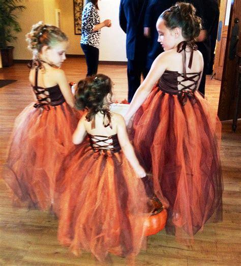 fall flower girl dresses  briscoe manor chapel goodrich