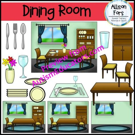 Dining Room Clipart Images by Dining Room Clip