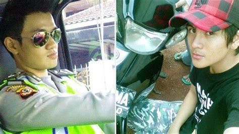 polisi  mahasiswa cowok facebook