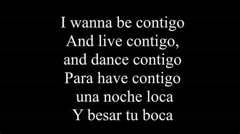 Enrique Iglesias Ft Sean Paul  Bailando (english) Lyrics