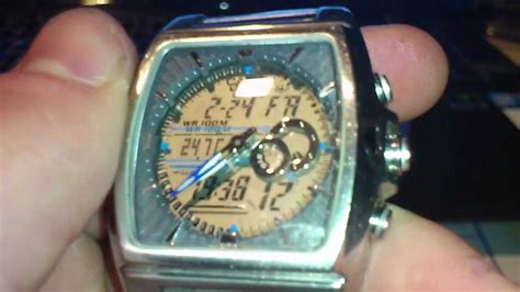 Casio Edifice Efa120 4334 Youtube