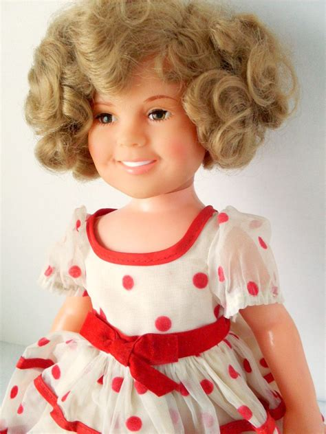 shirley temple doll items similar to vintage 1972 16 inch vinyl shirley temple doll on etsy