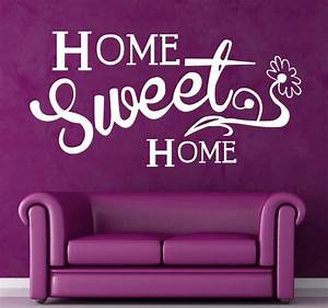 Home Sweet Home Vinyl Sticker - TenStickers
