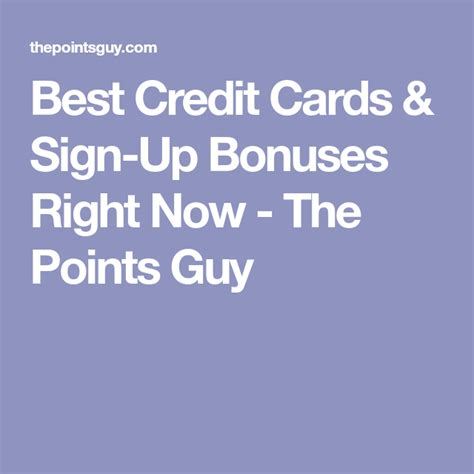 2x miles on every purchase. Best Credit Cards & Sign-Up Bonuses Right Now - The Points Guy | Credit card sign, Best credit ...