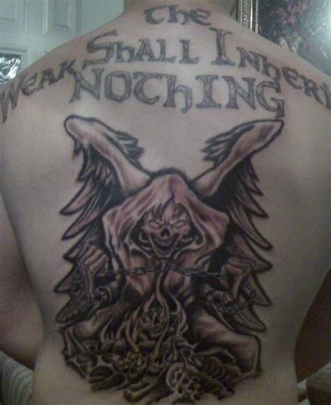 full  angel  death tattoo tattooimagesbiz