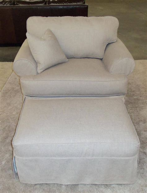 slipcover for oversized chair and ottoman t cushion slipcovers for large sofas ottomans t cushion