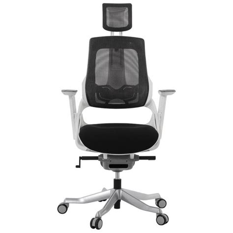 fauteuil bureau tissu fauteuil de bureau design ergonomique bahamas en tissu noir