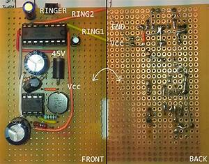 Op Amp - Ringer Circuit Old Telephone