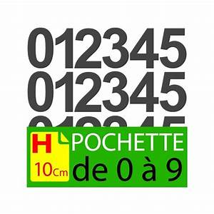 Lettres Adhésives Extérieur : pochettes chiffres adh sifs 15 cm stickers chiffres autocollants ~ Farleysfitness.com Idées de Décoration