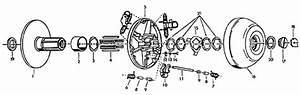 Comet 340 Series Torque Converter System  Symmetrical  For Go Karts  U0026 Mini Bikes