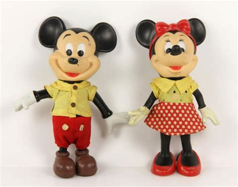 Early Mickey And Minnie Mouse Dolls
