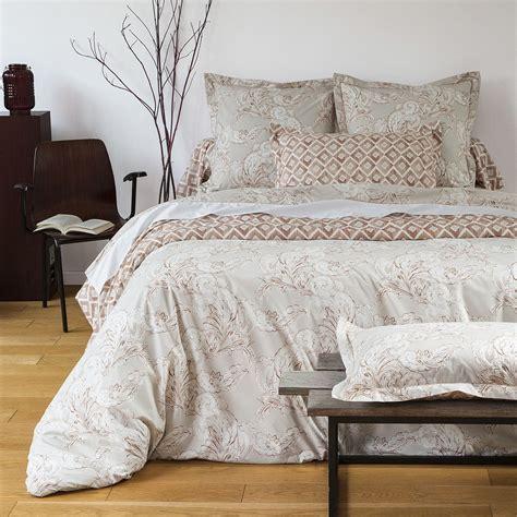 m linge de lit housse couette cachemire linge de lit percale