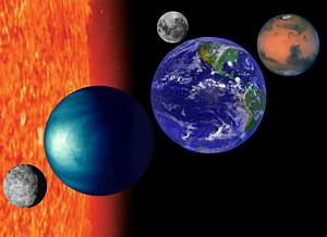 The Inner Planets in Order (page 3) - Pics about space