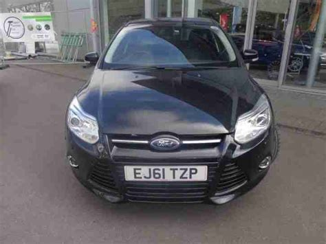 Ford 2011 Focus Titanium X 1.6 Tdci 115ps 5dr, Front And