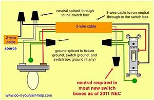 How To Wire Lights In Parallel With Switch Diagram