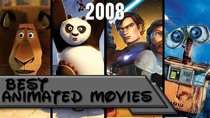 2008 Movies Animated Grossing