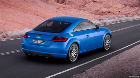 audi tt blue hd desktop wallpapers  hd