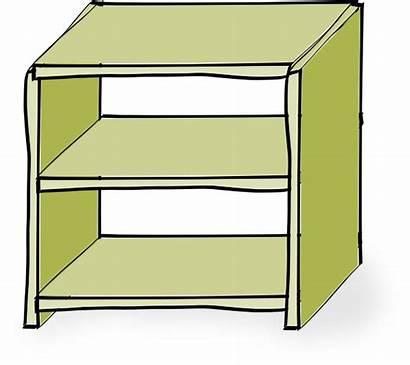 Shelves Clip Clker Clipart