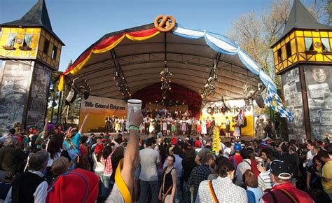 International Beer Garden by Oktoberfest 2017 In Argentina Beer Festival In Villa