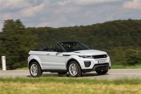 range rover cabrio gebraucht test range rover evoque cabriolet 2 0 td4 hse dynamic