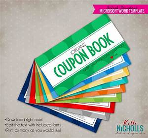 15 coupon book templates free sample example format With personalized coupon book template