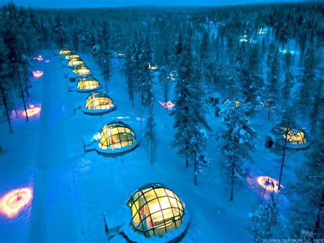hotels to see northern lights hotel igloo village best place to stay and see the