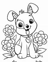 Puppy Coloring Pages Printable sketch template