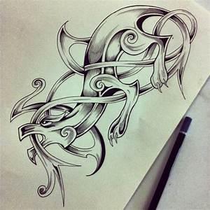 Celtic Dragon by Leeee13 on DeviantArt