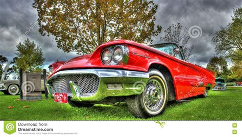 Classic 1960s American Chevy Bel Air Editorial Image