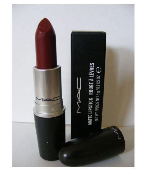 mac matte lipstick 3 gm buy mac matte