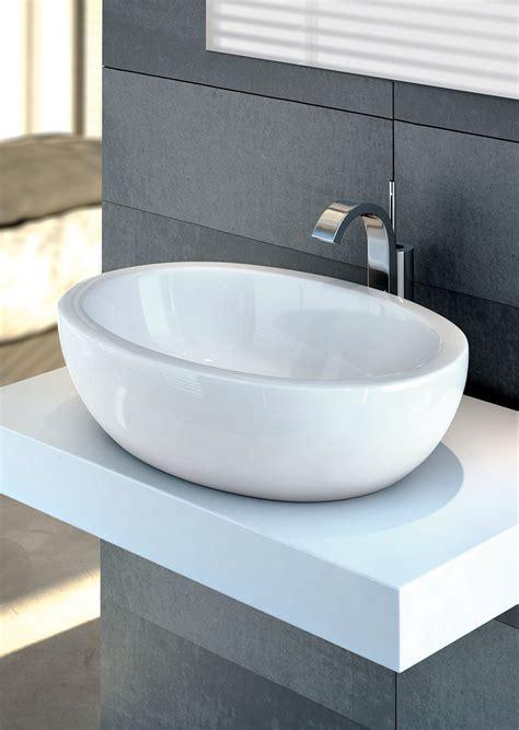 rubinetti per lavabi da appoggio lavabi sospesi a colonna da appoggio cose di casa