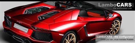 create   virtual lamborghini aventador roadster