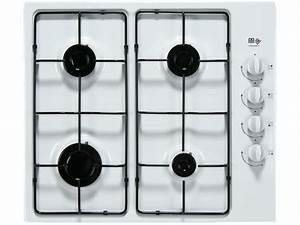 Plaque De Cuisson Blanche : table de cuisson gaz 4 foyers far tgsa40b 13 far vente ~ Dailycaller-alerts.com Idées de Décoration
