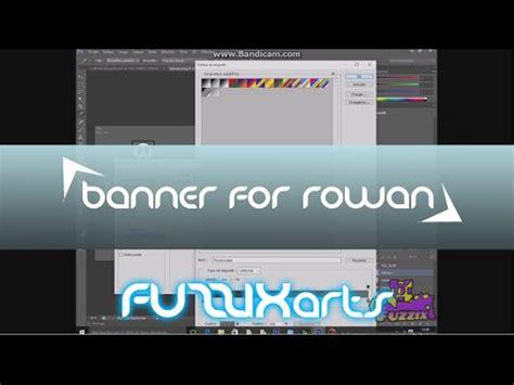 speedart banner for rowan youtube