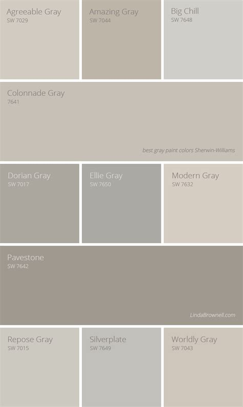 11 Most Amazing Best Gray Paint Colors Sherwin Williams To