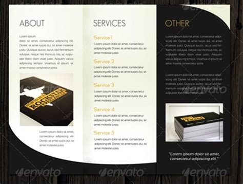 Adobe Photoshop Brochure Templates by Adobe Tri Fold Brochure Template Csoforum Info
