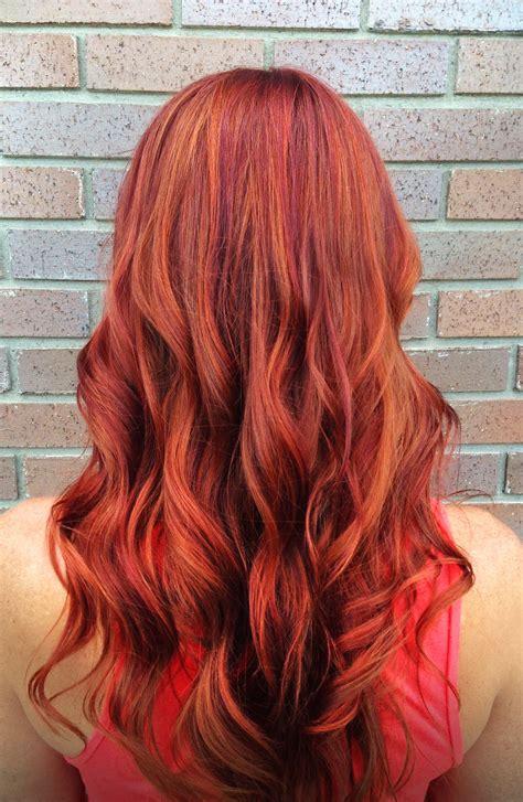 Pravana 7cc Carli Red Orange Hair Color Red Hair