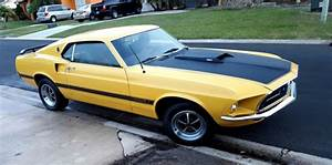 69 Ford Mustang Mach 1 H Code Fastback Running Driving !!!NO RESERVE!!!! for sale: photos ...