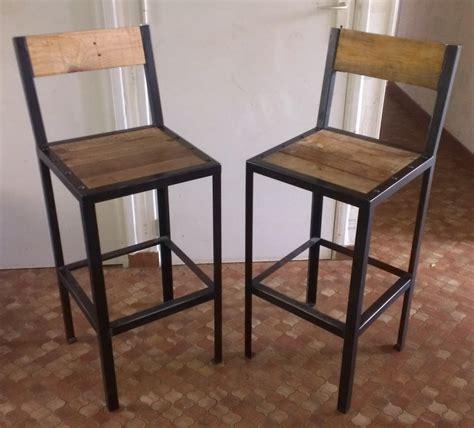 assise de chaise en bois tabourets de bar réalisation de meubles en bois et en métal