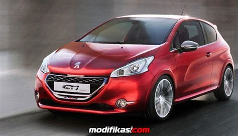 Modifikasi Peugeot 208 by Peugeot 208 Gti Mobil Hatch Yang Eksotis Dan Sporty
