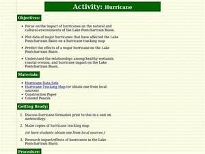 Hurricane Lesson Plan For 5th